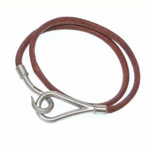 Hermes Jumbo Hook Wrap Bracelet/Choker